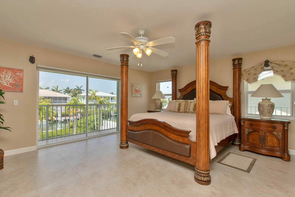 Palm Villa Vacation Rental - Master Bedroom